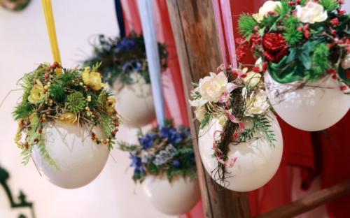 dekorierte Straußeneier